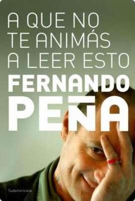 Libro de Fernando Peña