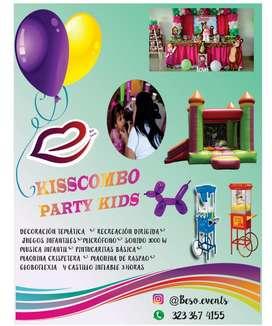 Fiestas Infantiles, Decoracion , Inflabl