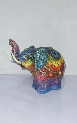 Elefante en degrade- Cerámica