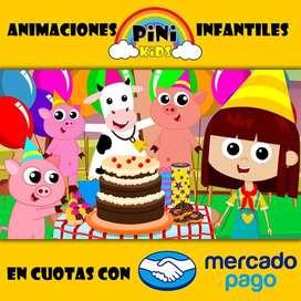 Cumpleaños infantiles con Animación y Animadores de Fiestas en Buenos Aires Argentina