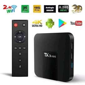 Convierte tu tv en smart TV BOX