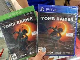 Tomb radier shadow play station