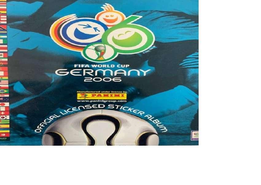Álbum Panini Mundial de Futbol Alemania 2006. Completo. 0