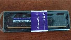 Dos SIM de Memoria DDR 3 de 8 y 4 baratas