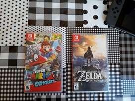 Mario Odyssey / Zelda Breath Of the Wild