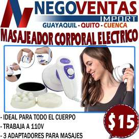 MASAJEADOR CORPORAL ELECTRICO DE MANO EN OFERTA EXCLUSIVA UNICAMENTE AQUI EN ENGOVENTAS LOS MEJORES PRECIOS DEL ECUADOR