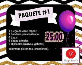PACKS PARA MESA DE DULCES/CANDY BAR