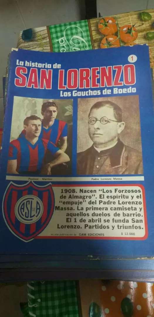 Revistas San Lorenzo-Colección de revistas La historia de San Lorenzo, Gráficos y otras coleccionables 0