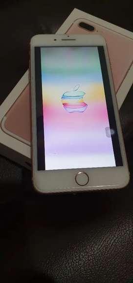 Iphone 7 Plus color Rose Gold