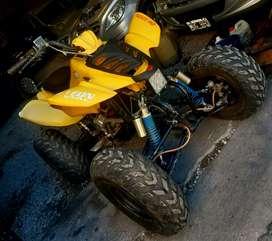Cuadri 250cc financió