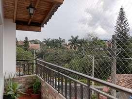 Malla protección balcon