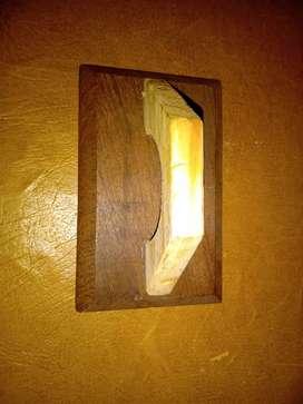Fratacho de madera de 20x12 cm