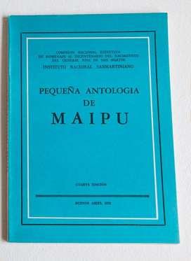 Pequeña Antología de Maipú Inst. Nac. Sanmartiniano