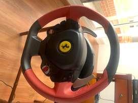 Timón/volante de carreras Thrustmaster Ferrari 458