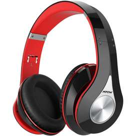 Audífonos Mpow Red Bluetooth, Estéreo, Plegables