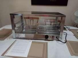 Vitrina electrica /calentador eléctrico