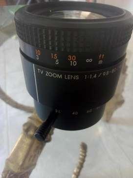 Lente con Zoom Canon Macro Tv 1: 1.4 98-