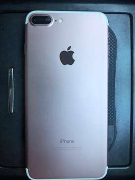 Se vende iPhone 7Plus Rose 128gb