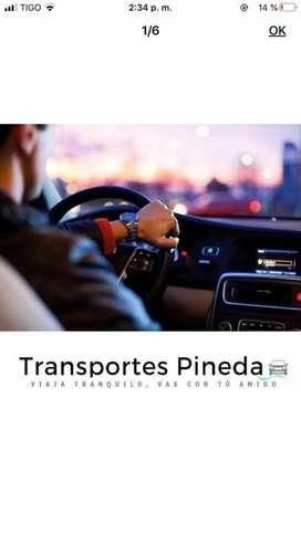 Servicio de transporte local y nacional