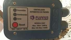 Controlador Automatico de Presion Agua