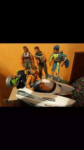Max Steel colección tortugas ninja y mas