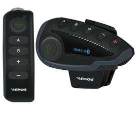 Intercomunicador Ejeas Bluetooth Para Casco Moto V8 1200mts