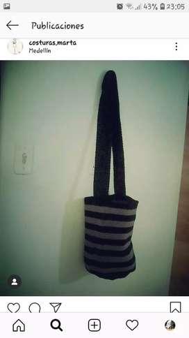 Bolsos y mochilas en crochet