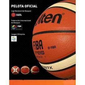 Pelota Molten GG7X y GG5X Cuero Original Basket FIBA