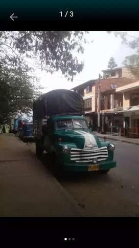 Camion chevrolet apache