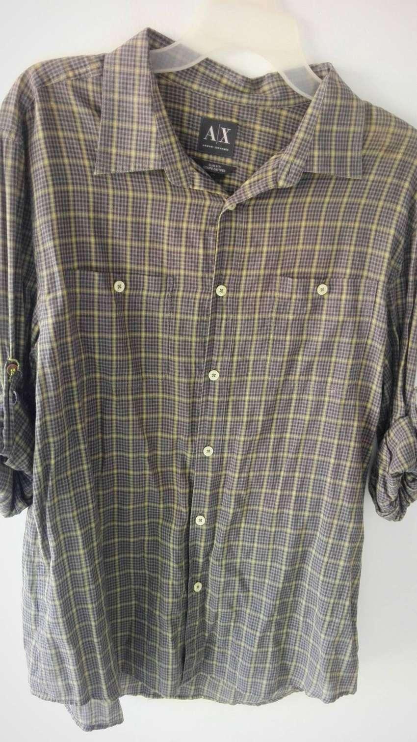 Camisa Armani Exchance Original Talla L Una Sola Postura! 0