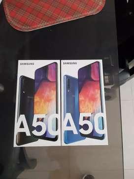 Samsung a50  64gb azules y negros