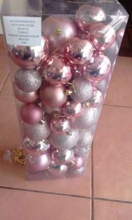 Adornos navideños a precios de ocasion para negocio.