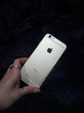 Iphone s6 usado, con cargador