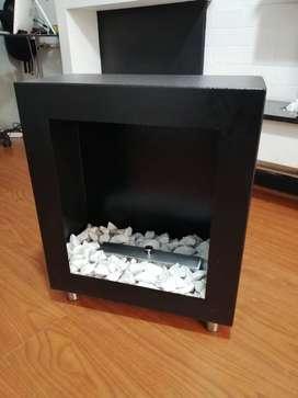 bioetanol y chimeneas gas portatiles calefaccion