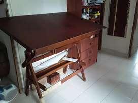 Mesa de Dibujo con luz + 2 paralelas
