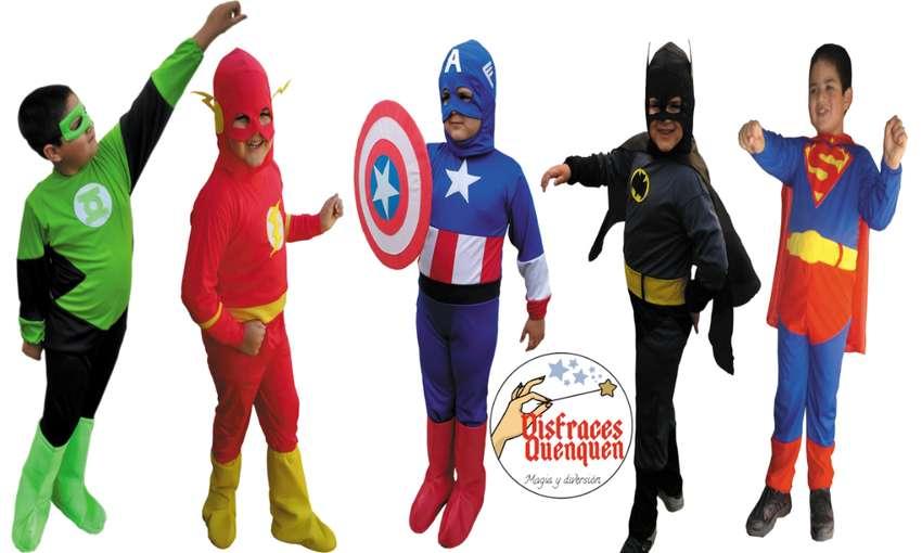 Disfraces de Superhéroes para niños 0