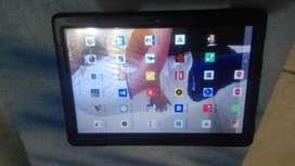 Tablet silver Max nueva 16 gigas internas doble SIM car
