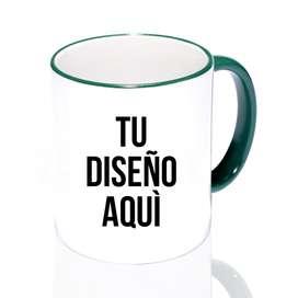 Mugs Vasos Pocillos Personalizados Logo Color Interno