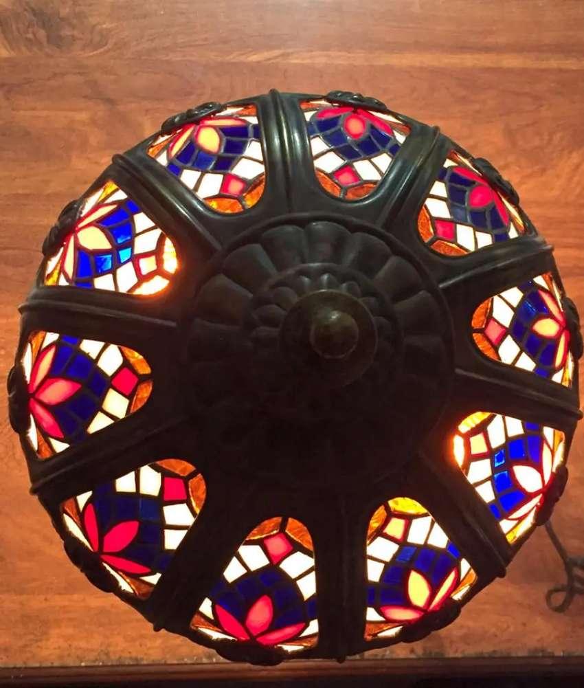 Lámparas Turcas, Lámparas bronce forjado
