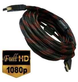 Cable Hdmi Enmallado 15 Metros Full Hd 1080p  Delivery