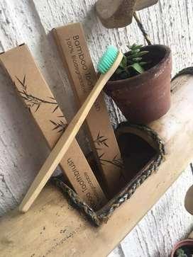 Cepillo de dientes bambú