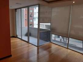 Rento departamento 115m2, 3 dormitorios, sector República del Salvador