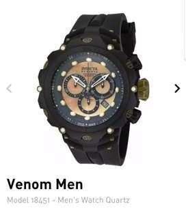 Excelente reloj INVICTA VENOM ll modelo 18451