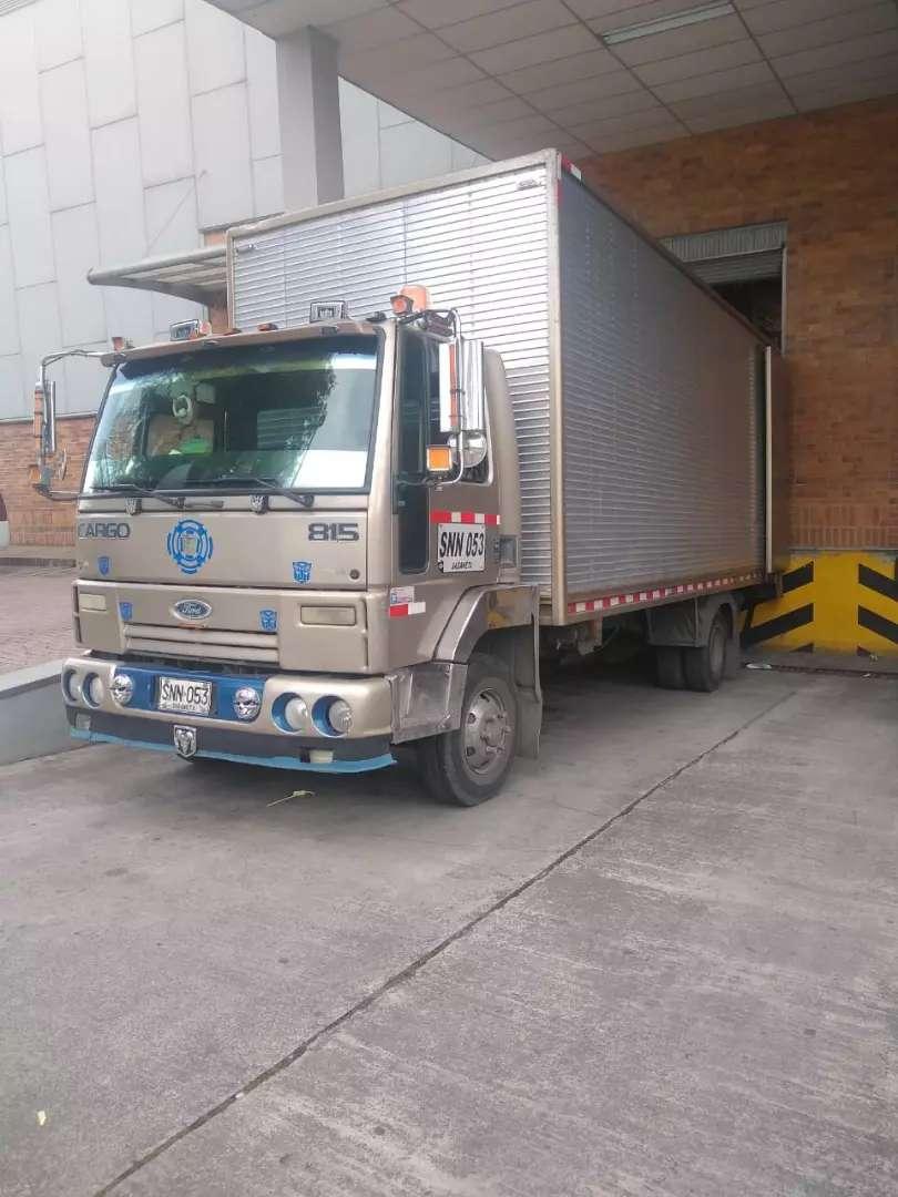 Vendo Furgon Ford Cargo 815 0