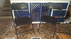 Vendo 2 sillas plegables