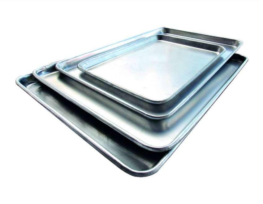 bandejas en aluminio 0