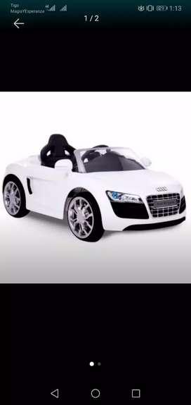 Vendo Carro de Baterias Audi R8 Spyder