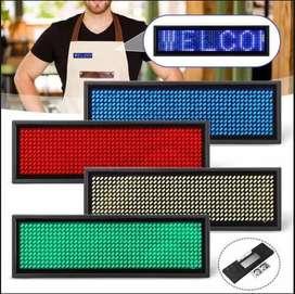 Mini pantalla LED para identificación y publicidad 