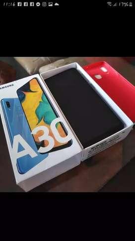 Vendo celular A30 TOTALMENTE  NUEVO  CON SUS ACCESORIOS  EN CAJA