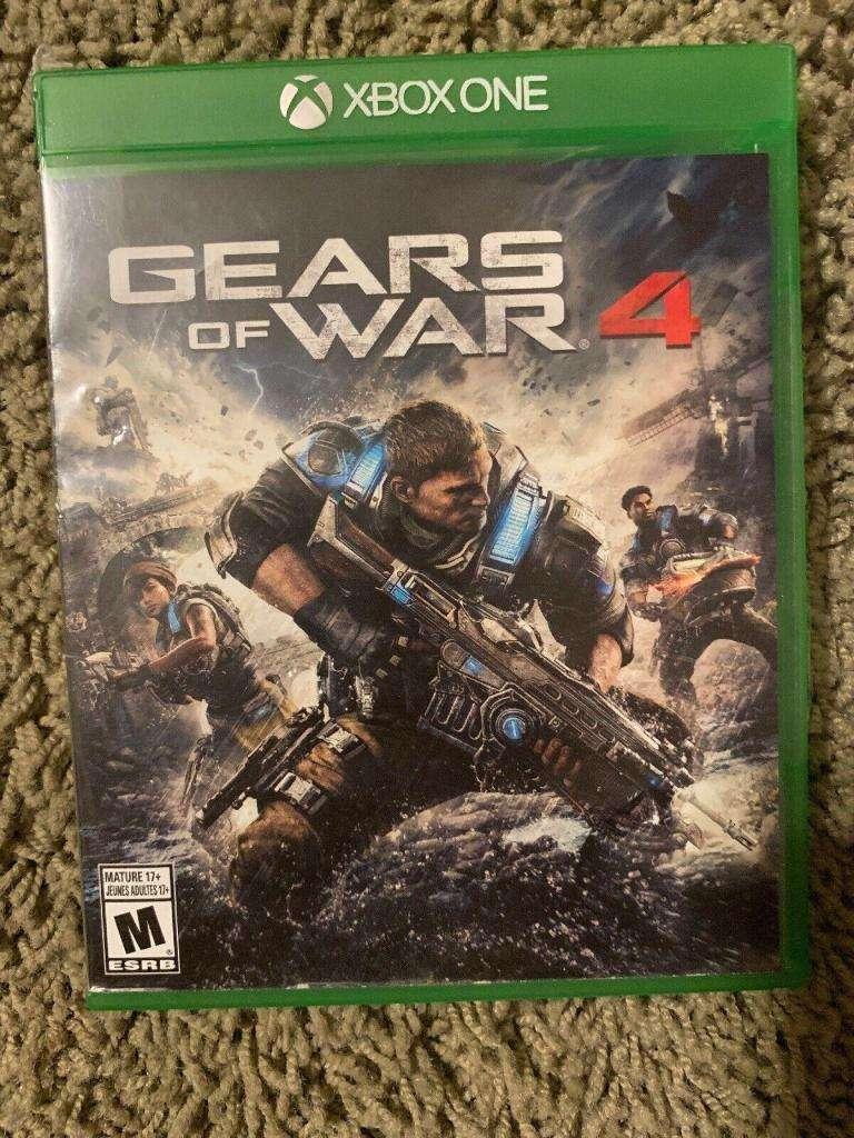 gears of war 4 como nuevo 0